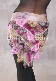 Egyptian Beaded Shawl Hip Scarf