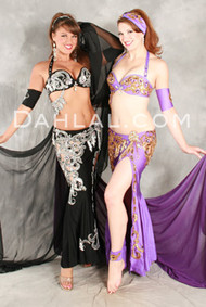 DESERT DREAM by Pharaonics of Egypt, Egyptian Belly Dance Costume, Available for Custom Order