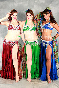 FLIRTY FLAIR by Pharaonics of Egypt, Egyptian Belly Dance Costume, Available for Custom Order