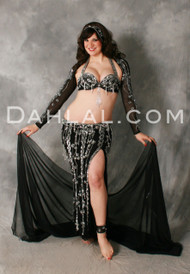 EXQUISITE AGILITY by Pharaonics of Egypt, Egyptian Belly Dance Costume, Available for Custom Order