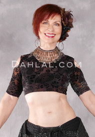 Forever Paisley Crop Top