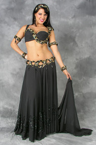 SPIRALING JEWELS by Pharaonics of Egypt, Egyptian Belly Dance Costume, Available for Custom Order