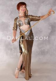 FIFI'S ULTRA SAIDI DRESS II- Black and Gold