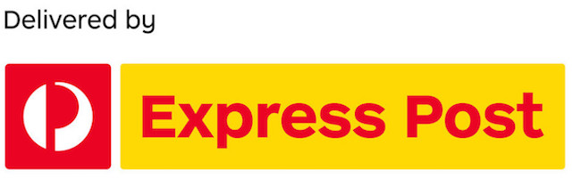 Delivered Nationally by Express Post