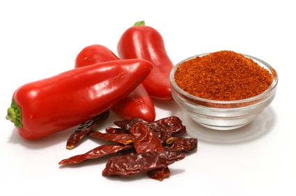 Cayenne Powder is hot and fantastic for improving circulation