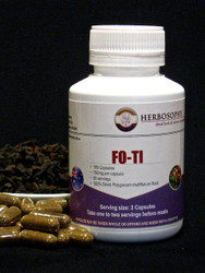 Fo-Ti Loose Cut, Powder or Capsules @ Herbosophy