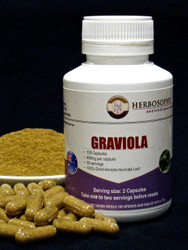 Graviola powder or capsules @ Herbosophy