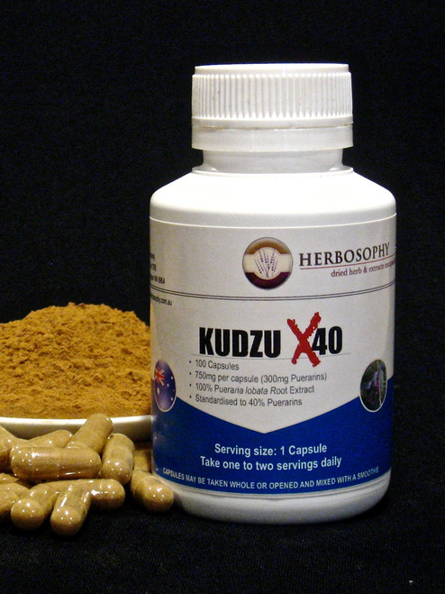Kudzu X40 Capsules and Powder