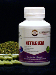 Nettle Leaf Loose Herb, Powder or Capsules @ Herbosophy