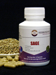 Sage Loose Cut, Powder or Capsules @ Herbosophy
