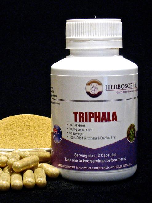 Triphala Capsules and Powder