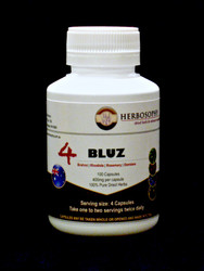 4 Bluz Blend with Brahmi, Damiana, Rhodiola & Rosemary