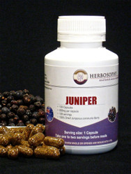 Juniper Dried Berries, Powder or Capsules @ Herbosophy