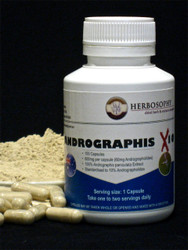 Andrographis X10 Loose Powder or Capsules @ Herbosophy