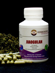 Jiaogulan Capsules @ Herbosophy