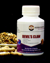Devil's Claw Root Loose Herb, Powder or Capsules @ Herbosophy