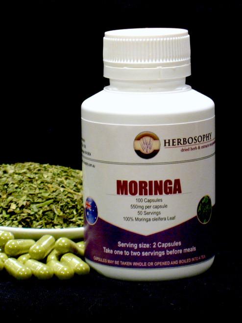 Moringa Capsules @ Herbosophy