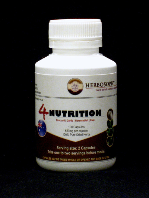 4 Nutrition Blend @ Herbosophy (Sulforaphane rich herbs)