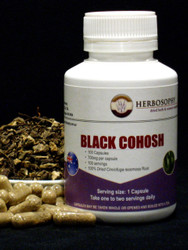 Black Cohosh Loose Herb, Powder or Capsules @Herbosophy