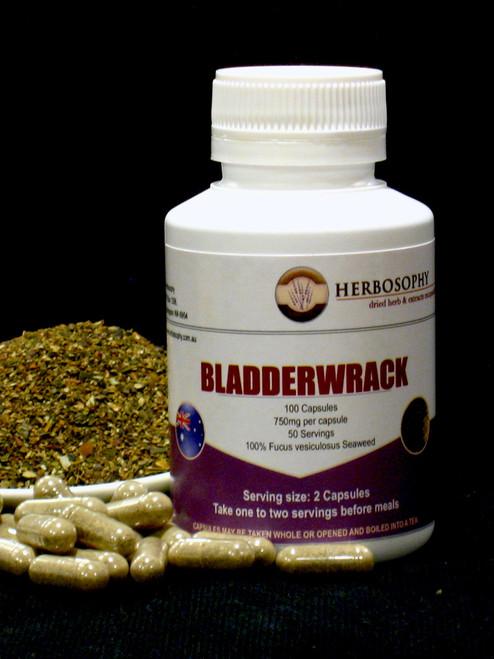 Bladderwrack Capsules @ Herbosophy