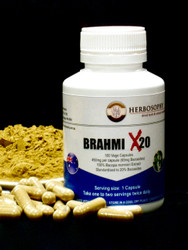 Bacopa (20% Bacosides) Capsules and Loose Powder
