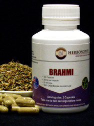 Brahmi Loose Herb, Powder or Capsules @ Herbosophy