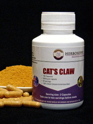 Cat's Claw Loose Powder & Capsules @ Herbosophy
