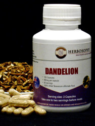 Dandelion Root Loose Herb, Powder or Capsules @ Herbosophy