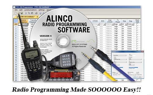 RT Systems Radio Programming Software - Alinco - Main