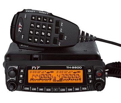 TYT TH-9800 PLUS Upgraded Version Quad Band Mobile 29/50/144/430 MHZ Ham  Radio