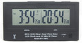 MFJ-148RC Radio Controlled Dual Time LCD Atomic Clock Station ID Timer
