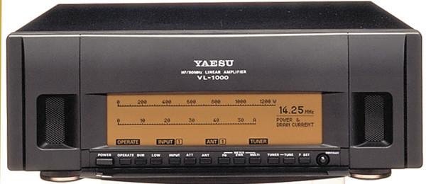 Yaesu Quadra System HF/50MHz Linear Amplifier with Power Supply VL-1000  VP-1000