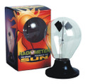 Radiometer Sphere powered by the sun!