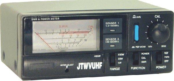 Jetstream JT-WVUHF Dual HF-UHF Power and SWR Meter