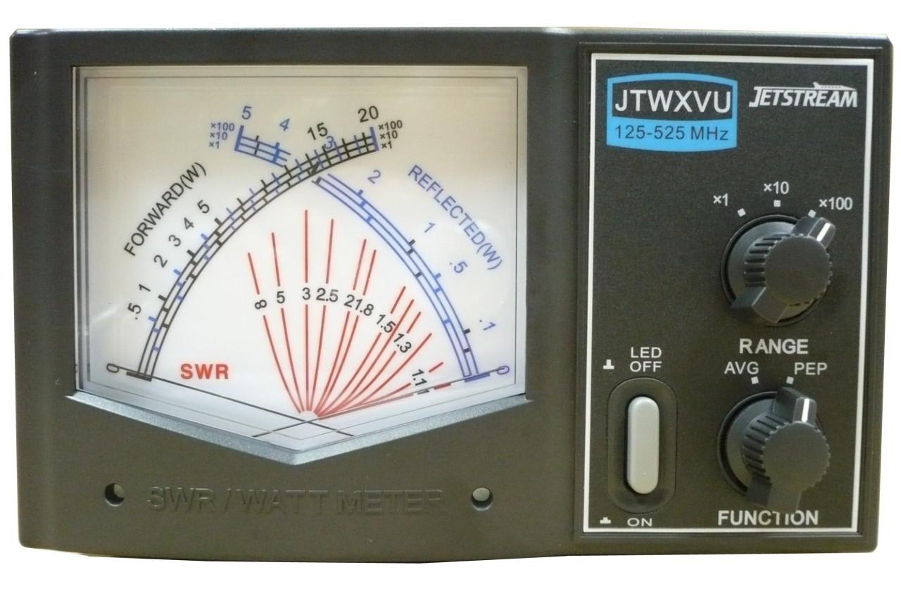 VHF/UHF Power and SWR Meter
