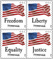 US POSTAL SERVICE BOOK OF 20 FOREVER STAMPS