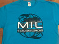 MTC Radio T-Shirt in Caribbean Blue