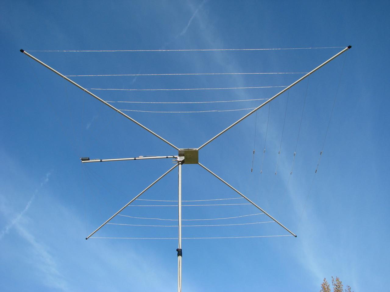 MFJ-1836H High Power 1500W HF Cob Web Antenna