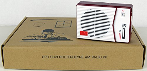 2P3 AM Radio Receiver Kit - Homebrew DIY for Enthusiasts