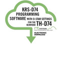 RT Systems KRS-D74 Programming Software for the Kenwood TH-D74 $25