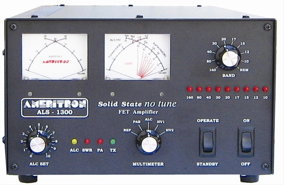 Ameritron ALS-1300 1200 Watt HF Solid State No tune