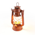 NEBO WEATHERRITE Old Red Lantern LED Antique Realistic Flickering 6642