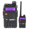 Baofeng UV-5RT 5 Watt Hand Held Dual-Band Transceiver