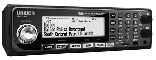 Uniden Bearcat BCD 536HP Police Scanner Free Shipping