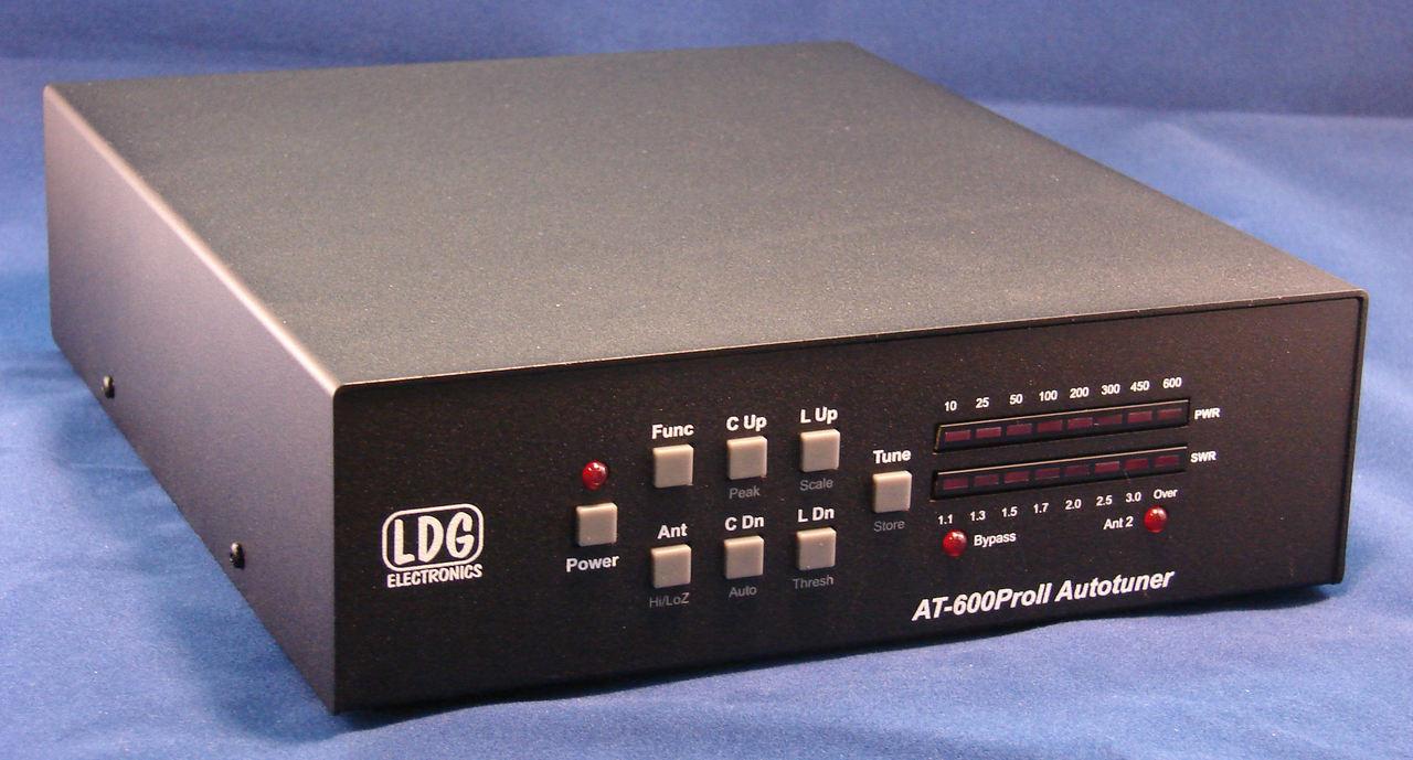 LDG Electronics AT-600PROII 5 to 600 Watt Desktop Memory Tuner