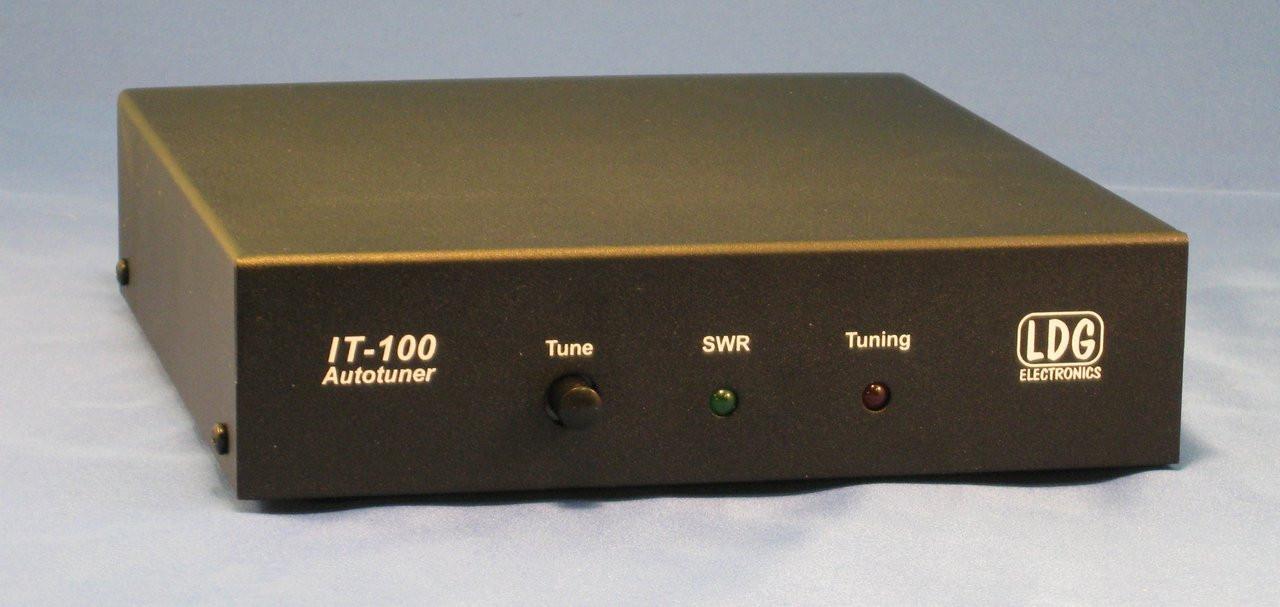 LDG Electronics IT-100 100 Watt Icom Tuner (AH-4/AH-3 compatible)