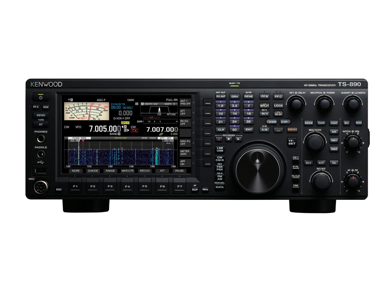 KENWOOD TS-890S HF + 6 METER TRANSCEIVER