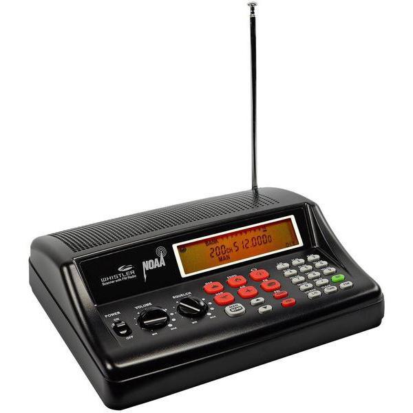 WHISTLER WS1025 - Desktop/Mobile Scanner Radio