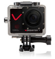 Monster Digital Villain Action Camera-1080p 30fps HD Video w/32gb micro SD and 16 Accessories