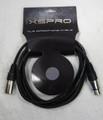 XSPRO XSM-25' SHIELDED AUDIO XLR MIC MICROPHONE CABLE